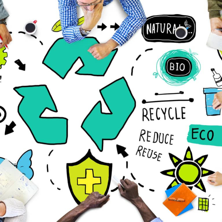 About Us - Recycling image